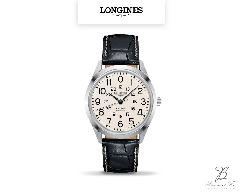barrier-et-fils-paris-16ieme-joaillier-horloger-reparation-bijoux-Le-Shop-homme-montre-Longines-Heritage-RailRoad-L2.803.4.23.0