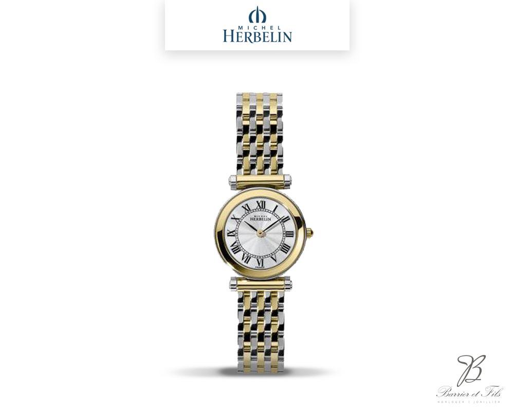 barrier-et-fils-paris-16ieme-joaillier-horloger-reparation-bijoux-Le-Shop-homme-Montre-Michel-Herbelin-17155-BT08