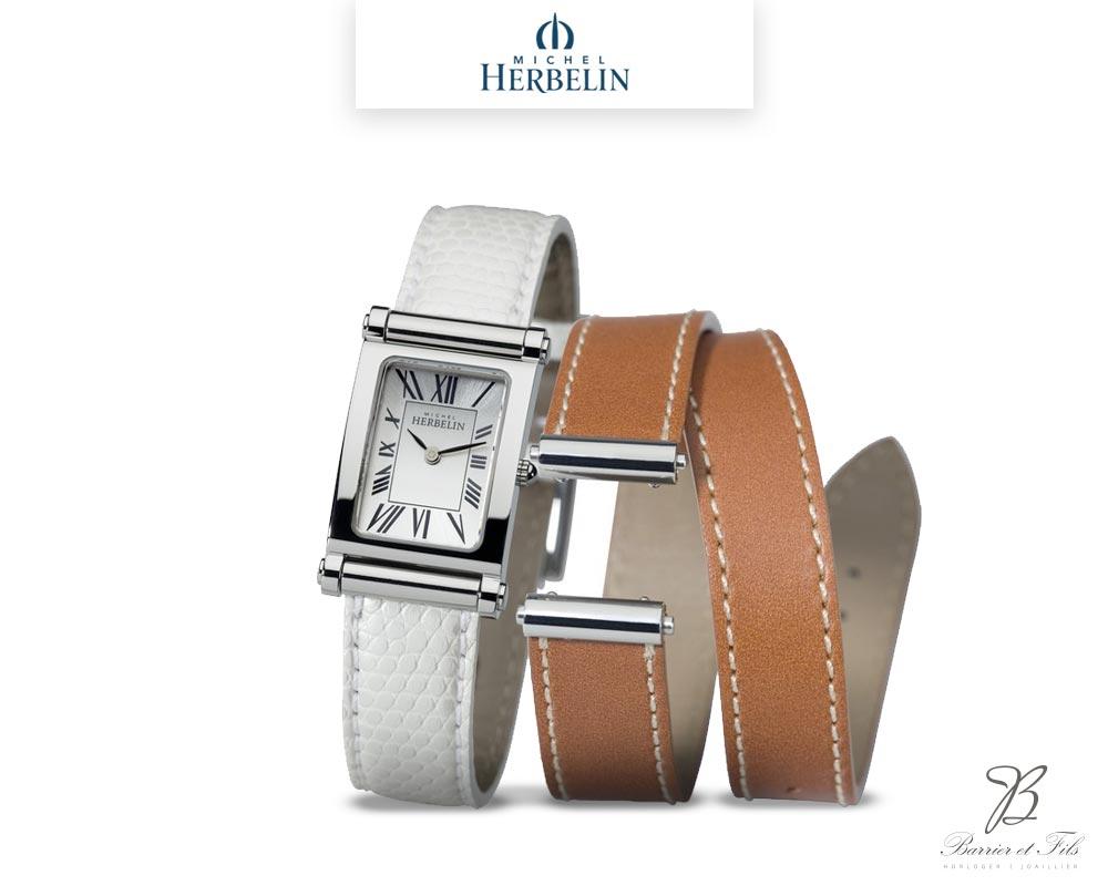barrier-et-fils-paris-16ieme-joaillier-horloger-reparation-bijoux-Le-Shop-homme-Montre-Michel-Herbelin-collection-Antares-Interchangeable-COF-17048-59L