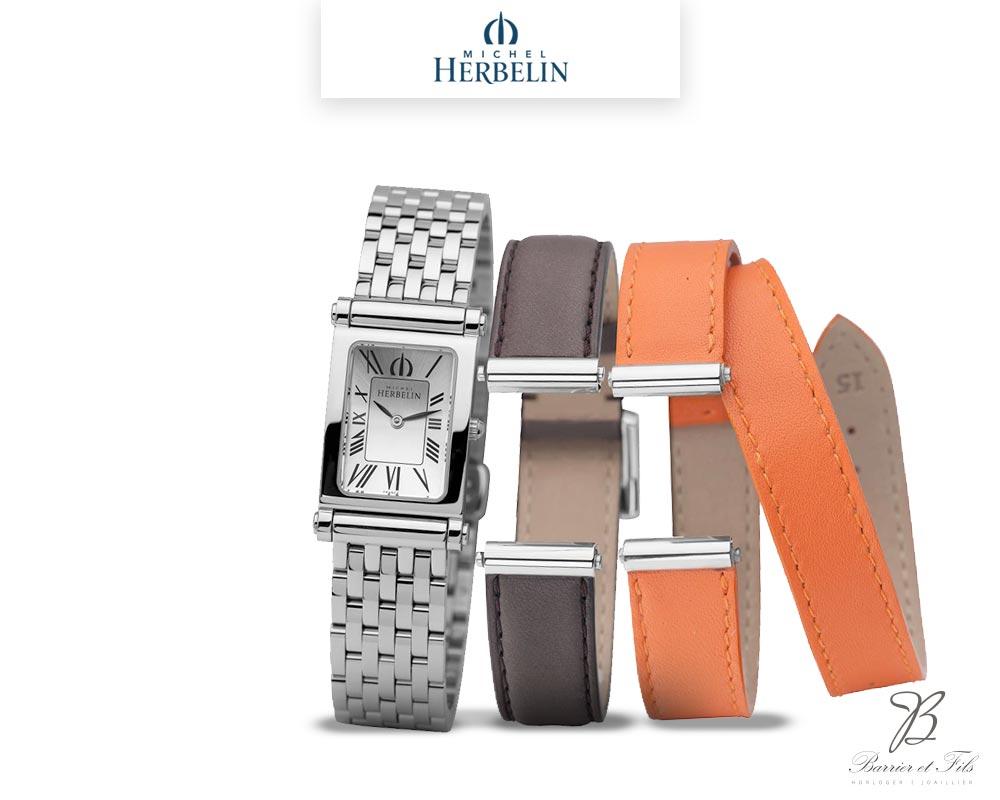 barrier-et-fils-paris-16ieme-joaillier-horloger-reparation-bijoux-Le-Shop-homme-Montre-Michel-Herbelin-collection-Antares-Interchangeable-COF-17048-B01SO