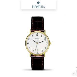 barrier-et-fils-paris-16ieme-joaillier-horloger-reparation-bijoux-Le-Shop-homme-Montre-Michel-Herbelin-collection-Classiques-12443-P01