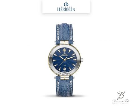 barrier-et-fils-paris-16ieme-joaillier-horloger-reparation-bijoux-Le-Shop-homme-Montre-Michel-Herbelin-collection-Newport-12255-T35