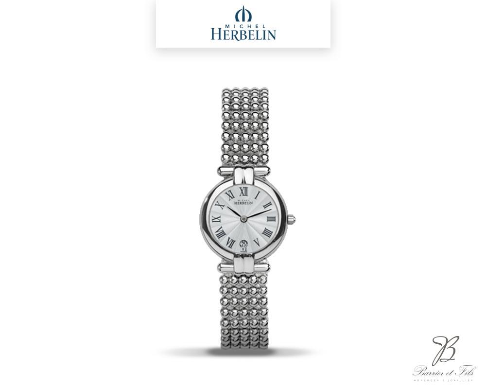 barrier-et-fils-paris-16ieme-joaillier-horloger-reparation-bijoux-Le-Shop-homme-Montre-Michel-Herbelin-collection-Perles-16873-B08